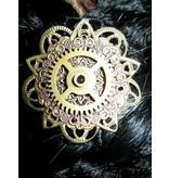 3 Mechanische Steampunk Kupfer-Ornamente