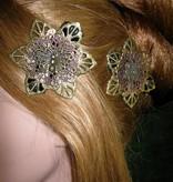 Steampunk Fairy Hair Flowers