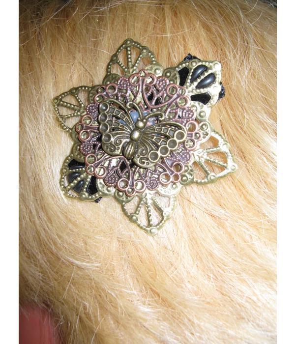 Steampunk Fee Haarblüten