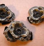 Boho Haarblüte Steampunk Orchidee