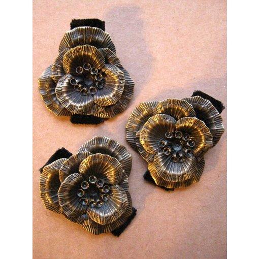 Haarblüte Steampunk Orchidee