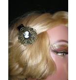 Prinzess Cameo Hair Flower