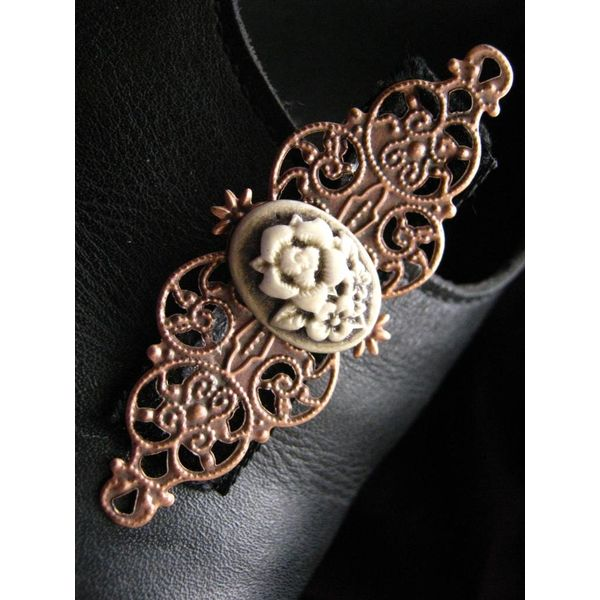 Steampunk Cameo Ornament