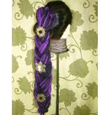 Ophelia Steampunk Hair Flower