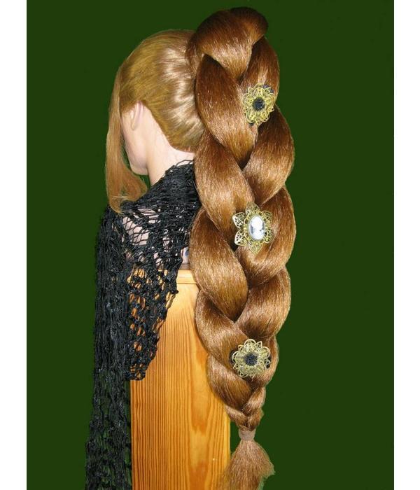 Steampunk Goth Hair Flower
