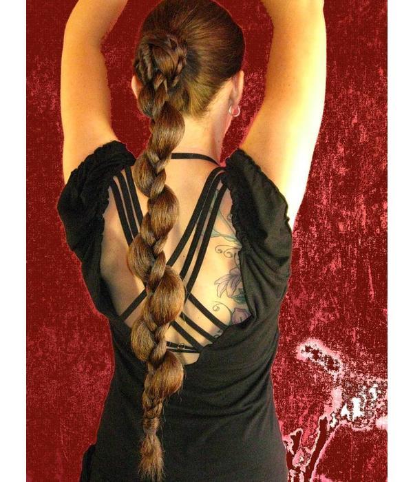 Braided Elf Chignon/ Hair Bun