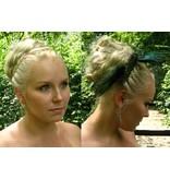 Haarteil für festliche Hochsteckfrisur