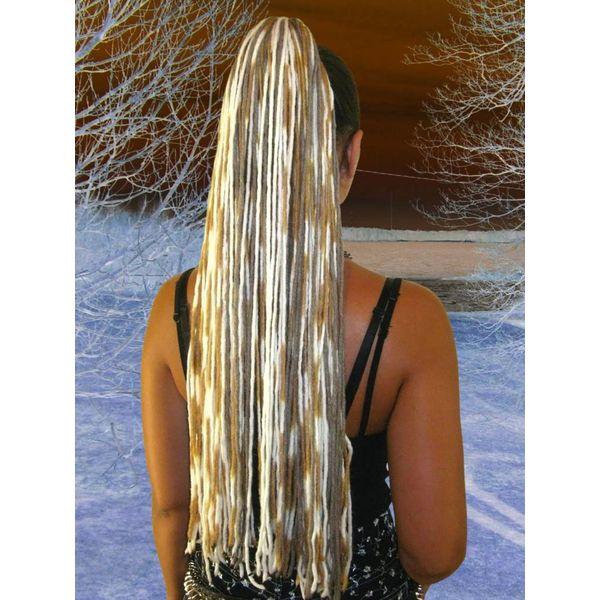 Feine Blonde Dreads
