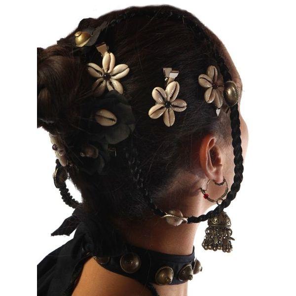 Kauri Haarblüten, schwarz