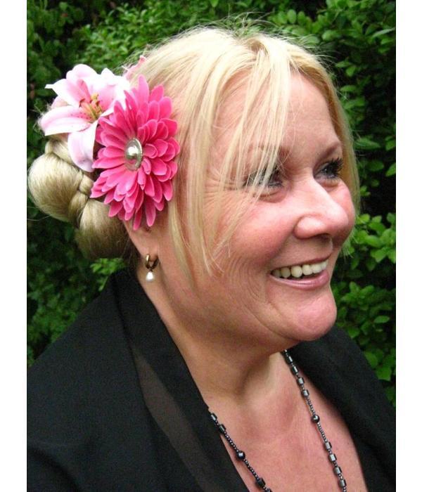 Haarblütenset Pink Passion