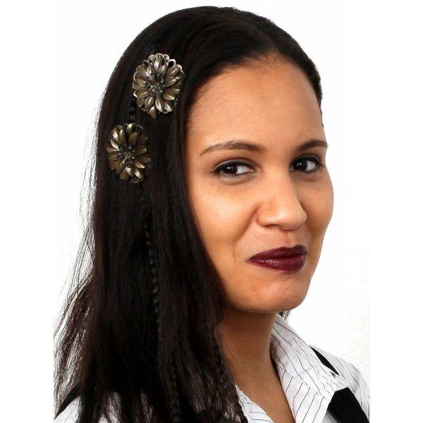 Haarblüte Steampunk Dahlie