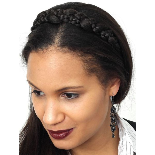 Braided Headband Snow White M