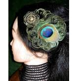 Zeitgeist Peacock Hair Jewelry Set