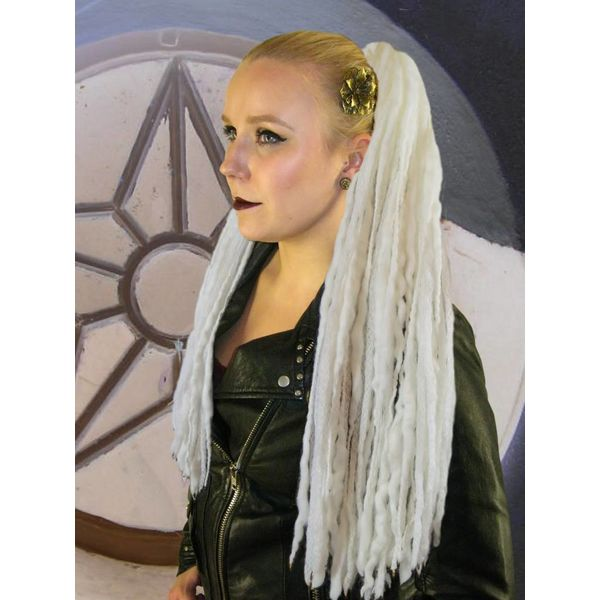 Platinum Blonde Dreads