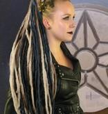 Black Dark Blonde Dreads