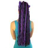 Lila Traum Haarteil aus Bändern