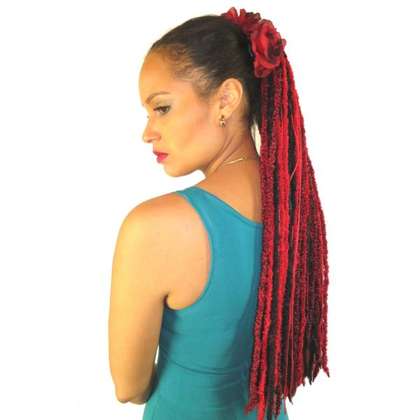 Red Passion Glamour Haarteil