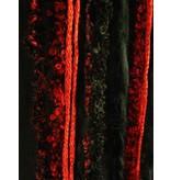 Red Passion Glamour Pfau Gürtelclip