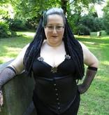 Schwarze Gothic Dreads
