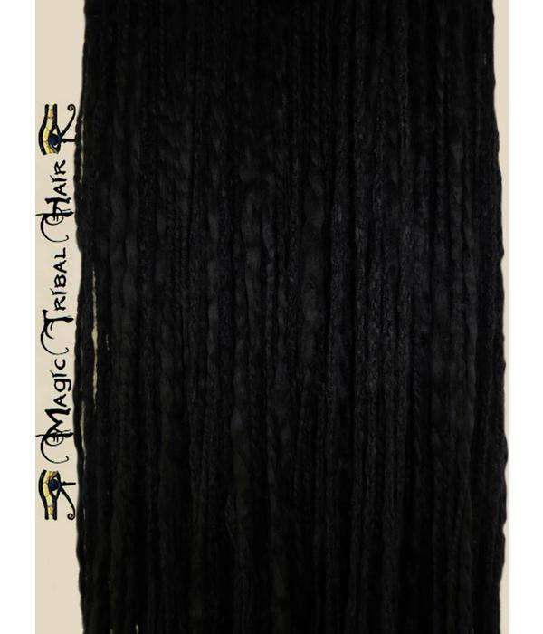 Black Peacock Dreads