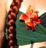 Haarblüte Lilie doppelt orange 2 x
