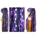 Purple Passion Gothic Haarteil