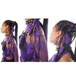 Haarteil mit Straußenfedern