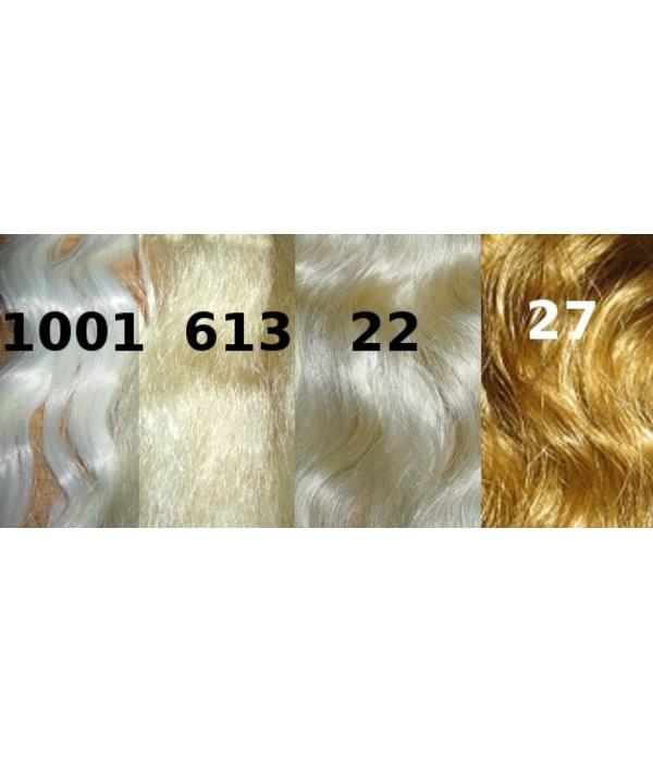 Haarteil, Größe L, glatt - hellblond, Farbmix 613/22/1001/27