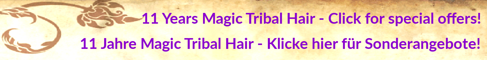 Hair Pieces, Braids, Headbands & Buns in Custom Colors MAGIC TRIBAL HAIR