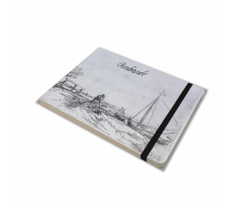 Schetsboekje Bruggetje van Six