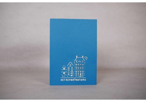 Pop-up Card Rembrandt House
