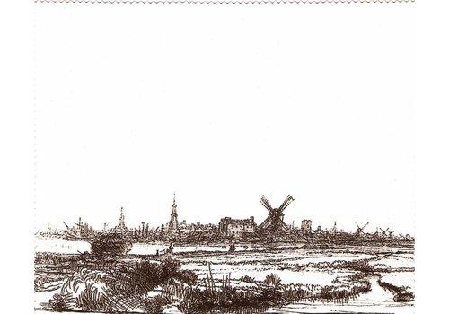 Brillendoekje, mobieltjedoekje, I-paddoekje Rembrandt