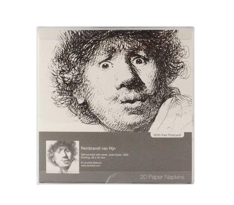 Paper napkins Rembrandt