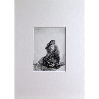 Rembrandt als Grand-Seigneur in passe-partout