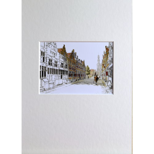 Jodenbreestraat in Rembrandt 's time