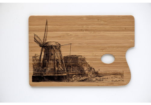 Serving Tray The Windmill