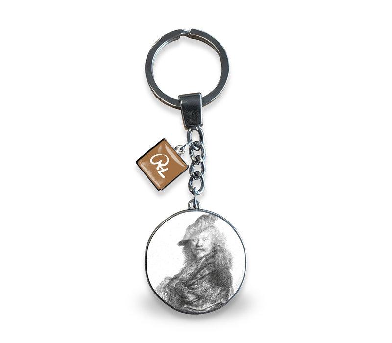 Key Ring Self-portrait B21