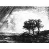 Placemat B212 Drie bomen