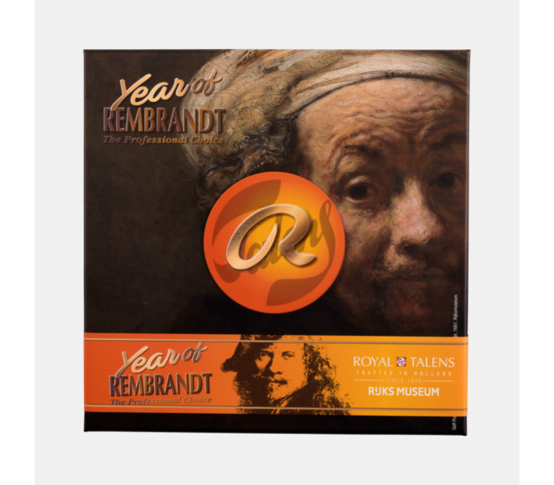 Year of Rembrandt Olieverfset