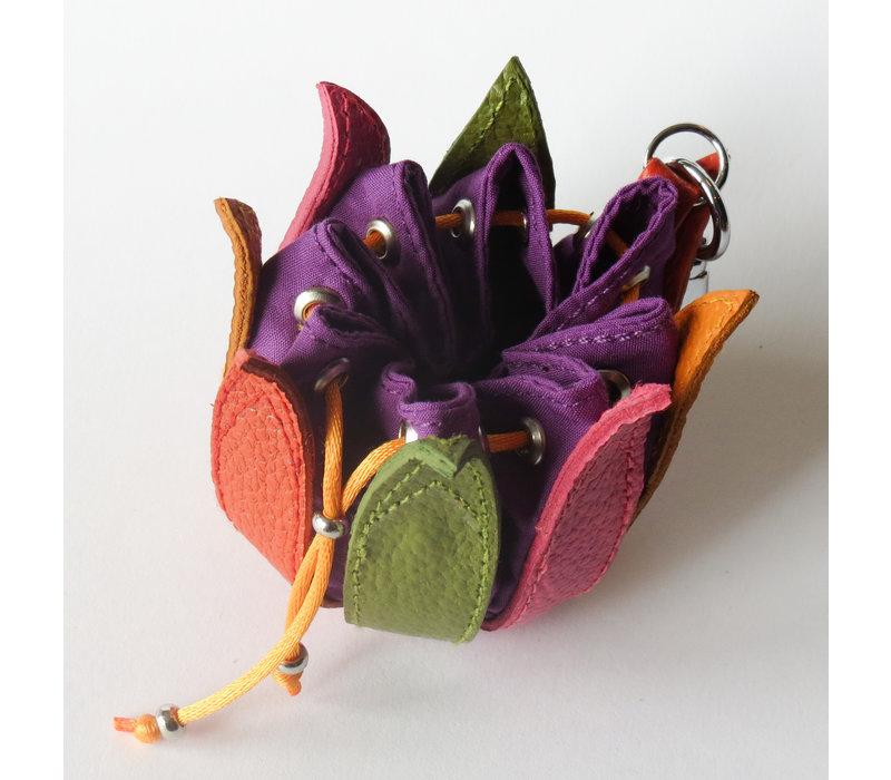 Buideltje in multi violet