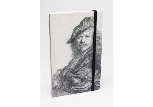 Notebook Self-portrait Leaning
