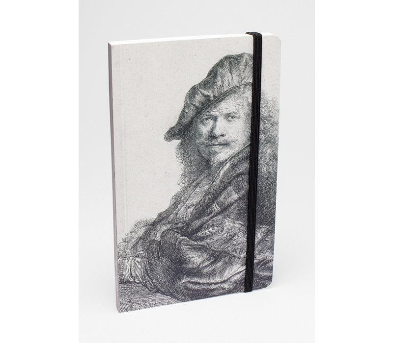 Notitieboekje Zelfportret Leunend