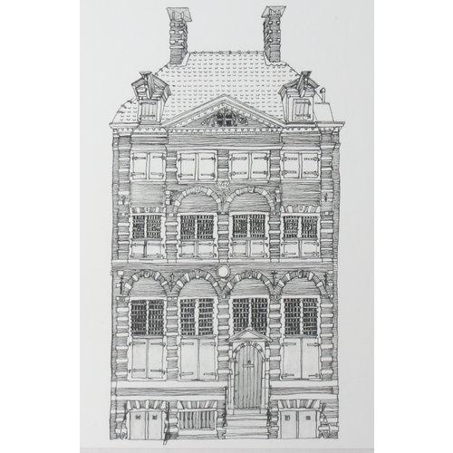 Ansichtkaart Rembrandthuis