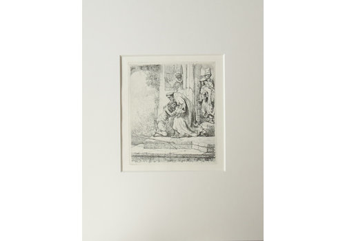 ETCHING The Return of the Prodigal Son