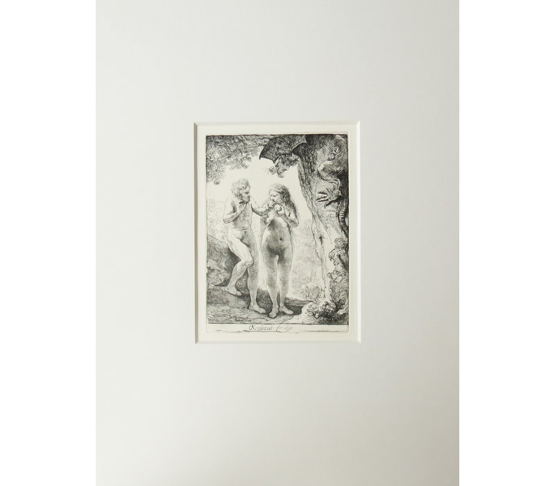 ETCHING The Fall of Man