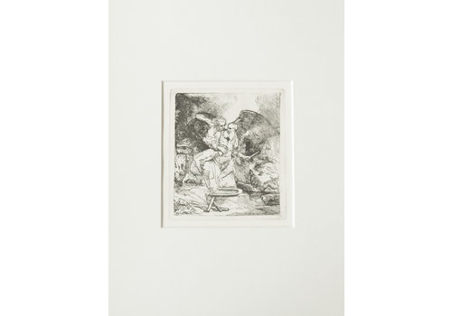 ETCHING Abraham's Sacrifice