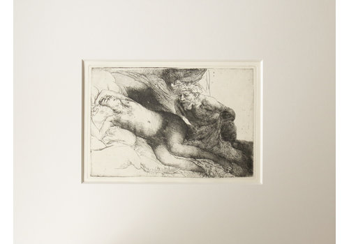 ETCHING Jupiter and Antiope