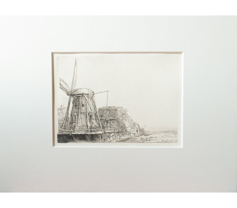 ETCHING The Windmill