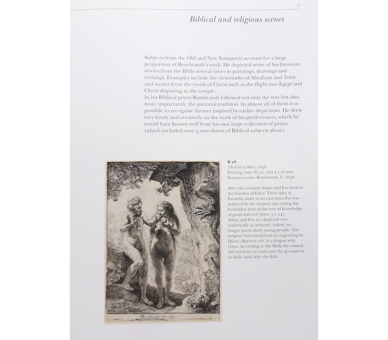 Catalogue of Rembrandt etchings ENGLISH