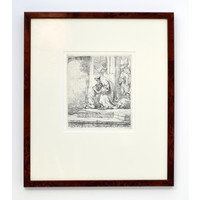 ETCHING The Return of the Prodigal Son in Frame